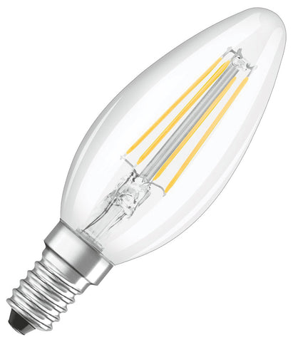 Osram LED Candle Bulb E14 4W Filament