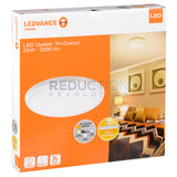 Osram Ledvance Tri Colour LED Oyster Light Dimmable