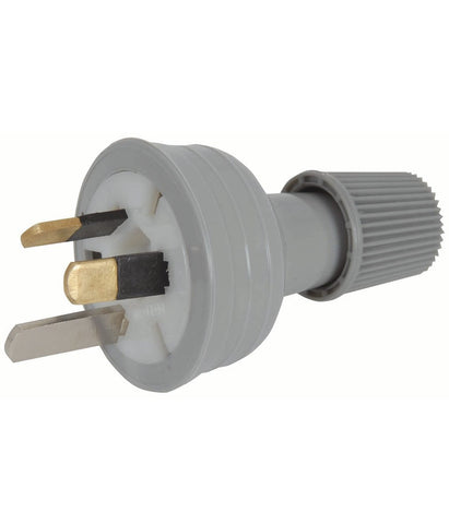 3 Pin Mains Power Plug 240V 10A