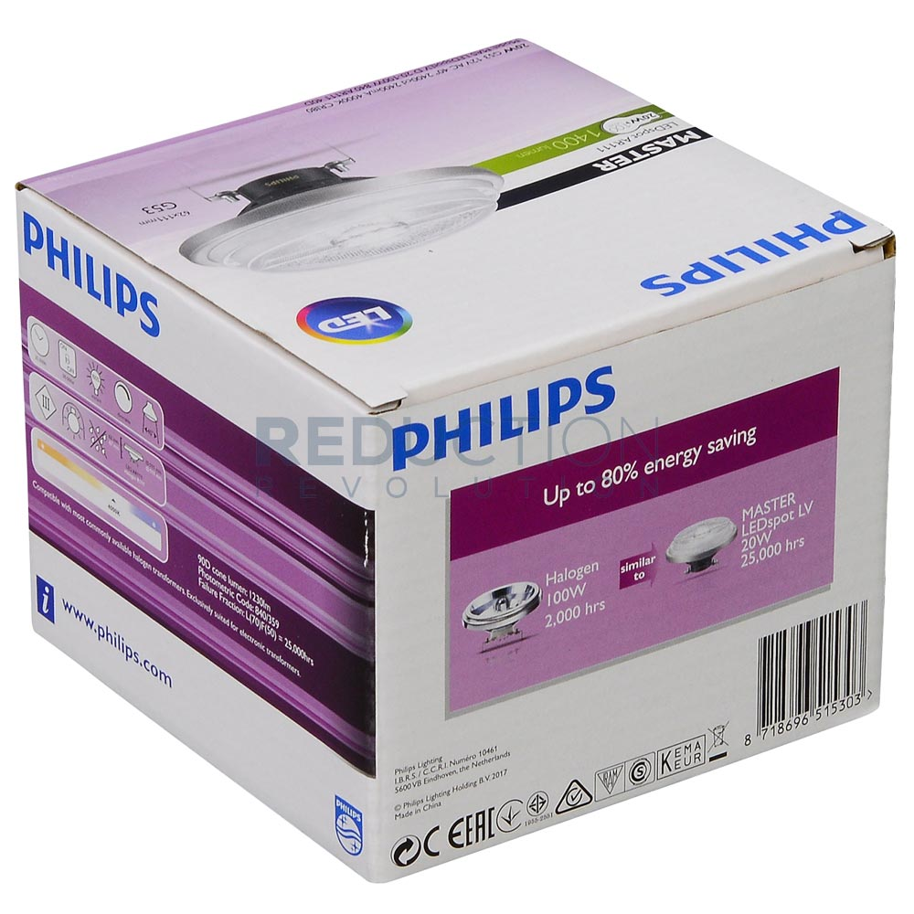 Philips Master Led Ar111 20w Record Low Price