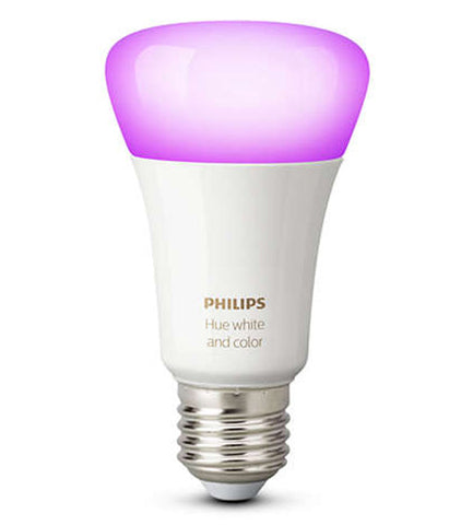 Philips Hue LED Bulb E27 - White & Colour Ambiance