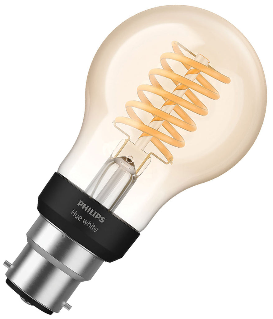Philips Hue Filament Bulb B22 7W - Dimmable White