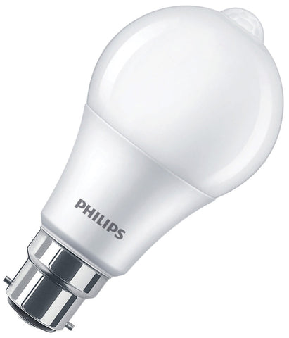 Philips LED Bulb B22 8W With Motion Sensor