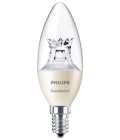 Philips SceneSwitch Step Dim LED Bulb E14 5.5W