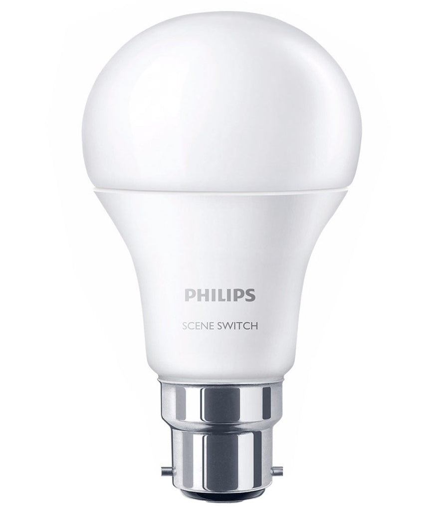Philips SceneSwitch Step Dim LED Bulb B22 8W