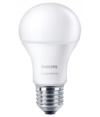 Philips SceneSwitch Colour Change LED Bulb E27 9.5W