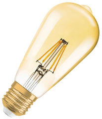 Osram LED Filament ST64 Bulb E27 7.5W Dimmable