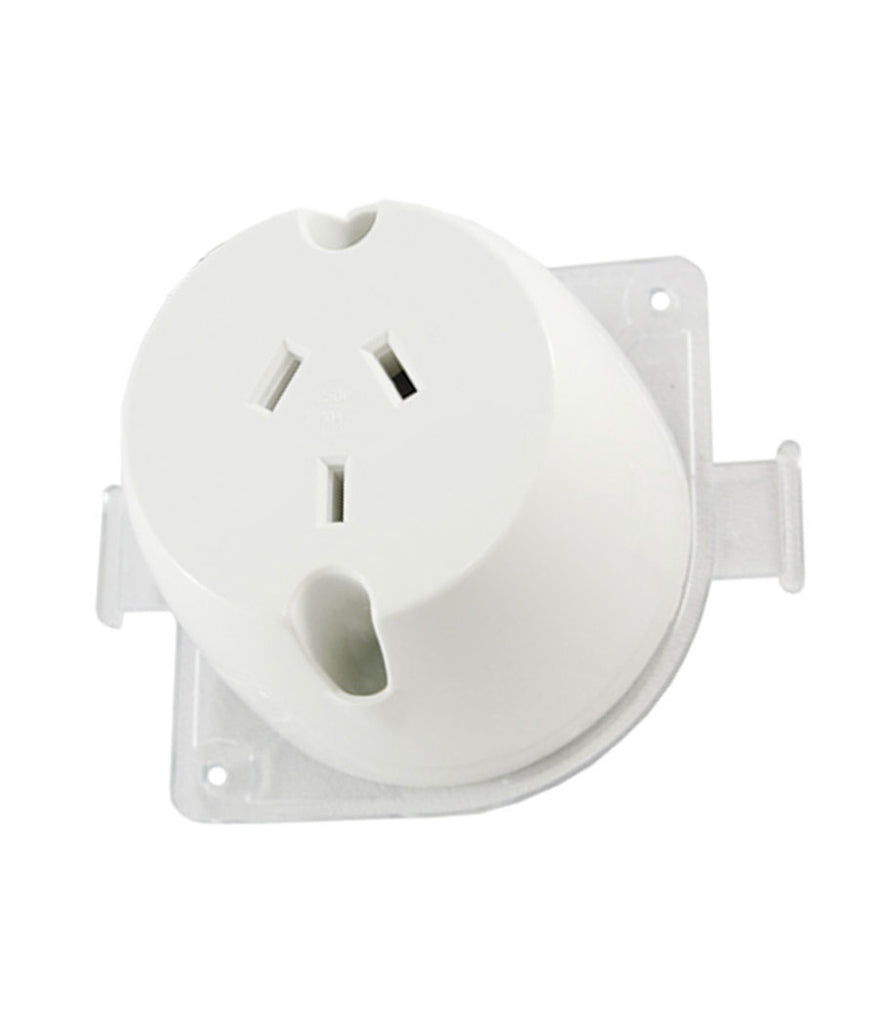 10 Pack of Surface Mount Power Sockets 240V 10A