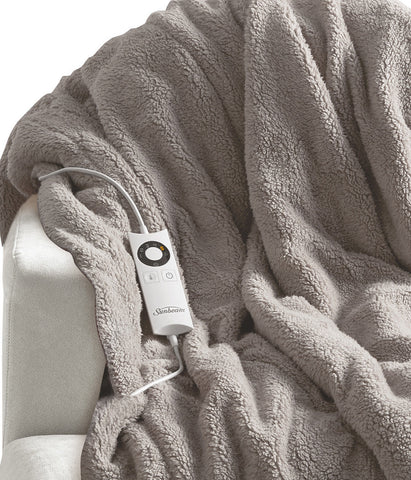 Sunbeam Feel Perfect Heated Throw