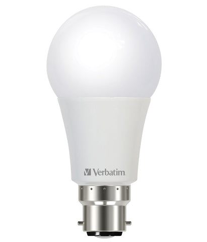 Verbatim LED Bulb B22 Bayonet Cap Dimmable