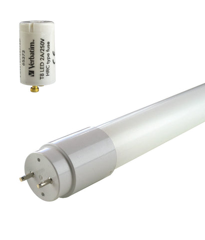 Verbatim T8 LED Tube - 3 Foot (900mm, 90cm)