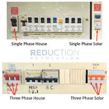 Identify whether your house & solar is single or three phase