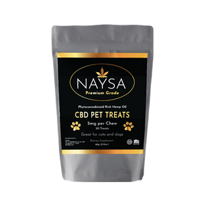 AHAVA BOTANICALS- NAYSA CBD CHEWABLE PET TREATS 150MG