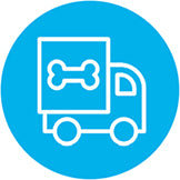 Doggie Style Delivery Icon