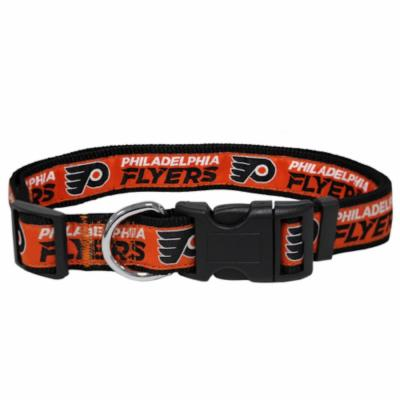 Pets First NHL Philadelphia Flyers Dog Collar
