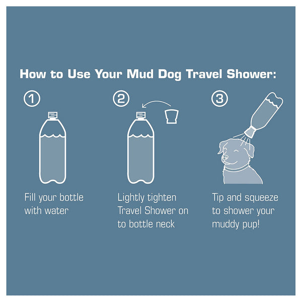 Kurgo Mud Travel Dog Shower