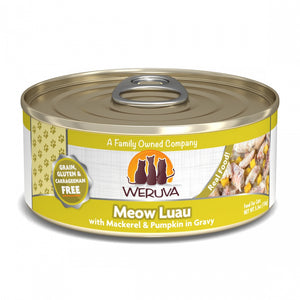 Weruva Meow Luau With Mackerel and Pumpkin Canned Cat Food
