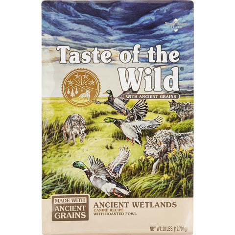 Taste of the Wild Ancient Wetlands Roasted Fowl & Ancient Grain Recipe Dry Dog Food