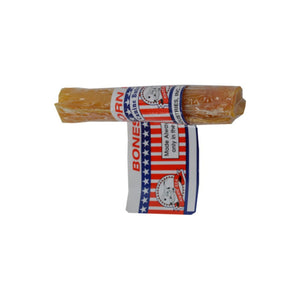 Canine Butcher Shop Bacon Chewy Rawhide Roll Dog Treat