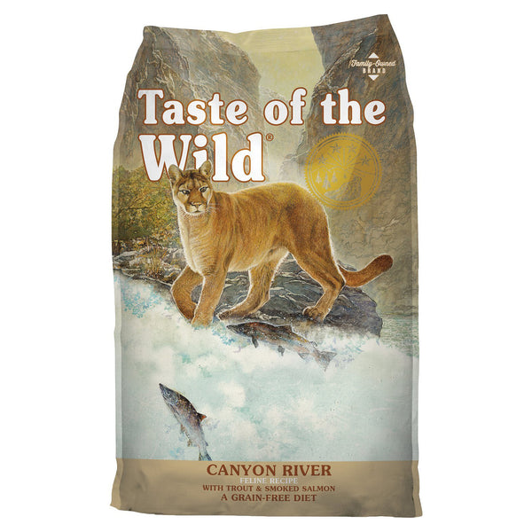 Taste of the Wild Canyon River Grain-Free Dry Cat Food