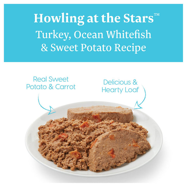 Solid Gold Howling at the Stars Turkey, Ocean White Fish & Sweet Potato Recipe Canned Dog Food