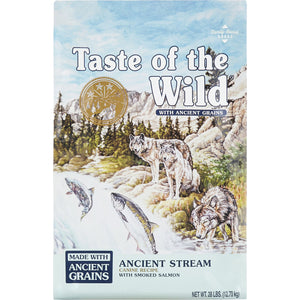 Taste of the Wild Ancient Stream Smoked Salmon & Ancient Grain Recipe Dry Dog Food