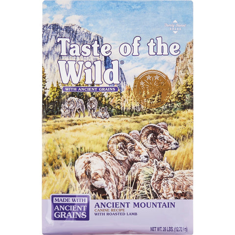 Taste of the Wild Ancient Mountain Roasted Lamb & Ancient Grain Recipe Dry Dog Food