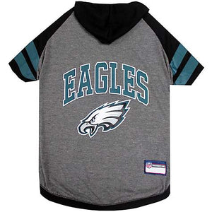 Pets First NFL Philadelphia Eagles Hoodie Tee