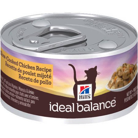 Hill's Ideal Balance Adult Slow-Cooked Chicken Recipe Canned Cat Food