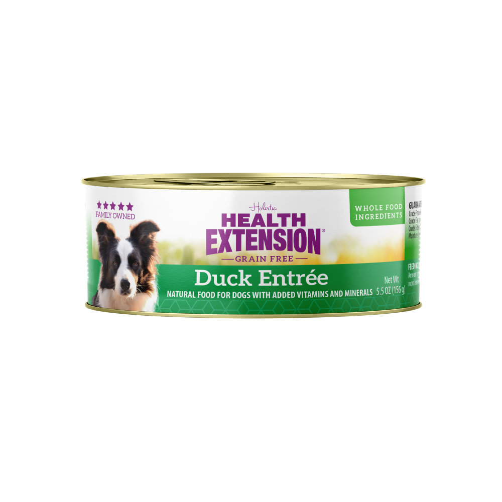 Health Extension Grain Free Duck and Sweet Potato Entree Canned Dog Food