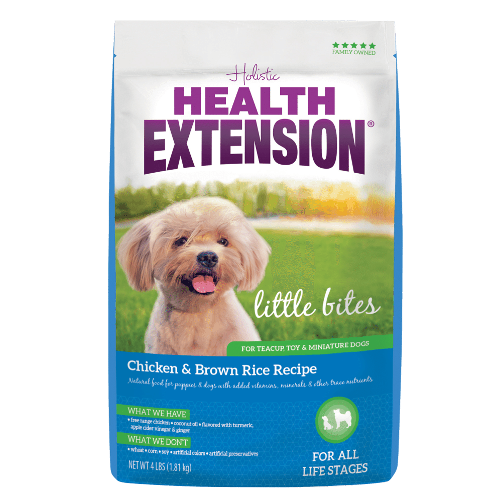 Health Extension Little Bites Small Breed Chicken and Brown Rice Dry Dog Food