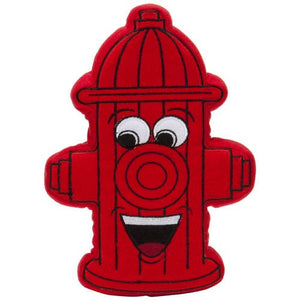PrideBites Plush Fire Hydrant Dog Toy