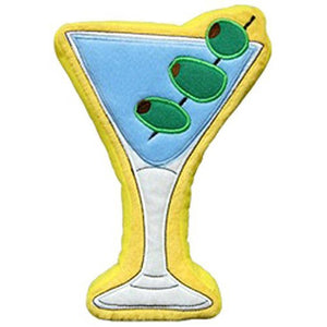 PrideBites Plush Martini Dog Toy
