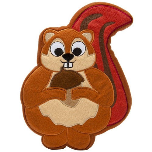 PrideBites Plush Sadie The Squirrel Dog Toy