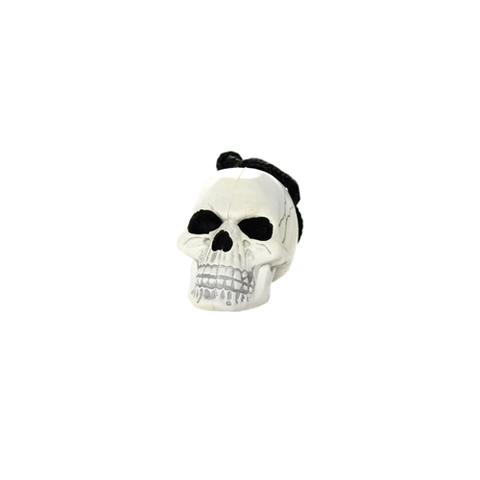 Tuffy Rugged Rubber Extra-Small White Skull Dog Toy