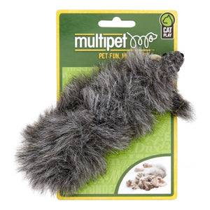 Multipet Long Mouse Catnip Cat Toy
