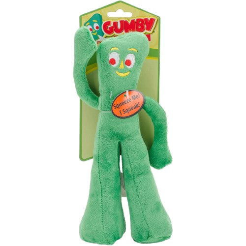 Multipet Original Gumby Plush Dog Toy