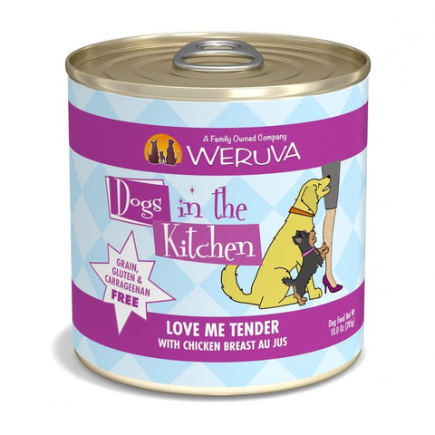 Weruva Dogs in the Kitchen Love Me Tender Grain Free Chicken Breast Canned Dog Food