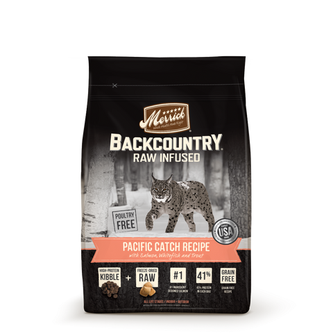Merrick Backcountry Grain Free Pacific Catch Recipe Dry Cat Food