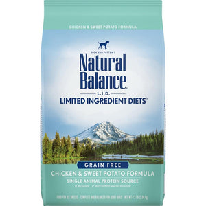 Natural Balance L.I.D. Limited Ingredient Diets Adult Grain Free Chicken and Sweet Potato Dry Dog Food