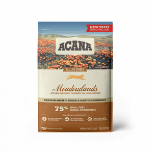 Acana Meadowlands Freeze Dried Coated Grain Free Dry Cat Food