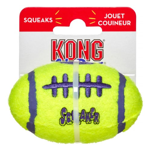 KONG AirDog Squeakair Football Dog Toy