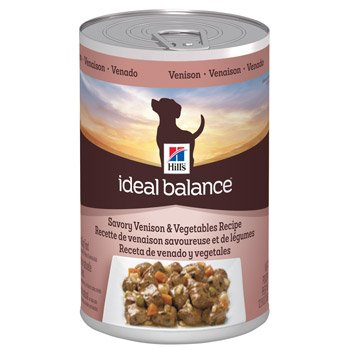 Hill's Ideal Balance Savory Venison & Vegetables Recipe Canned Dog Food