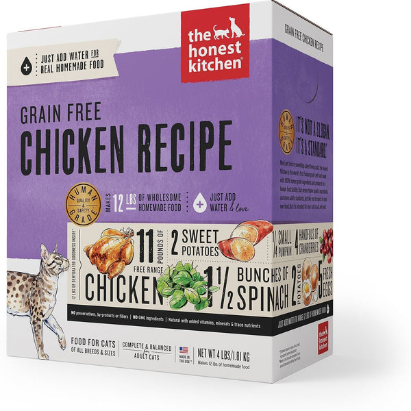 The Honest Kitchen Grain-Free Chicken Recipe Dehydrated Cat Food