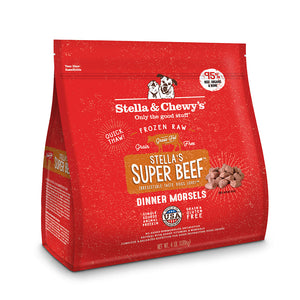 Stella & Chewy's Dinner Morsels Stella's Super Beef Frozen Raw Dog Food