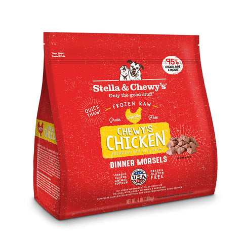 Stella & Chewy's Dinner Morsels Chewy's Chicken Frozen Raw Dog Food