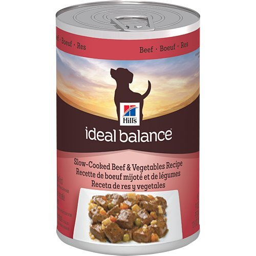 Hill's Ideal Balance Slow-Cooked Beef and Vegetables Recipe Canned Dog Food