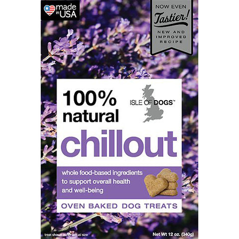 Isle of Dogs Baked 100% Natural Chillout Dog Treats