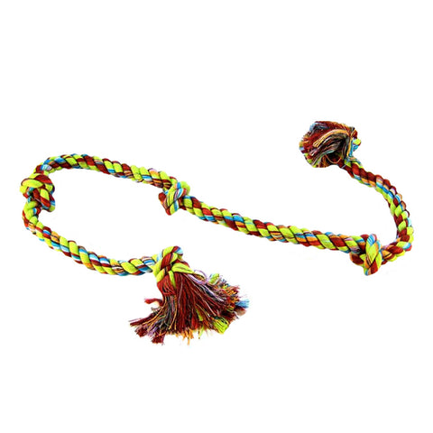 Mammoth Cottonblend 5 Knot Dog Rope Tug