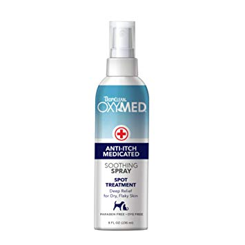 TropiClean OxyMed Anti-Itch Spray